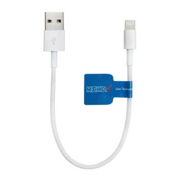 کابل تبدیل USB به لایتنینگ مکا مدل MCU23 طول 15 سانتیمتر