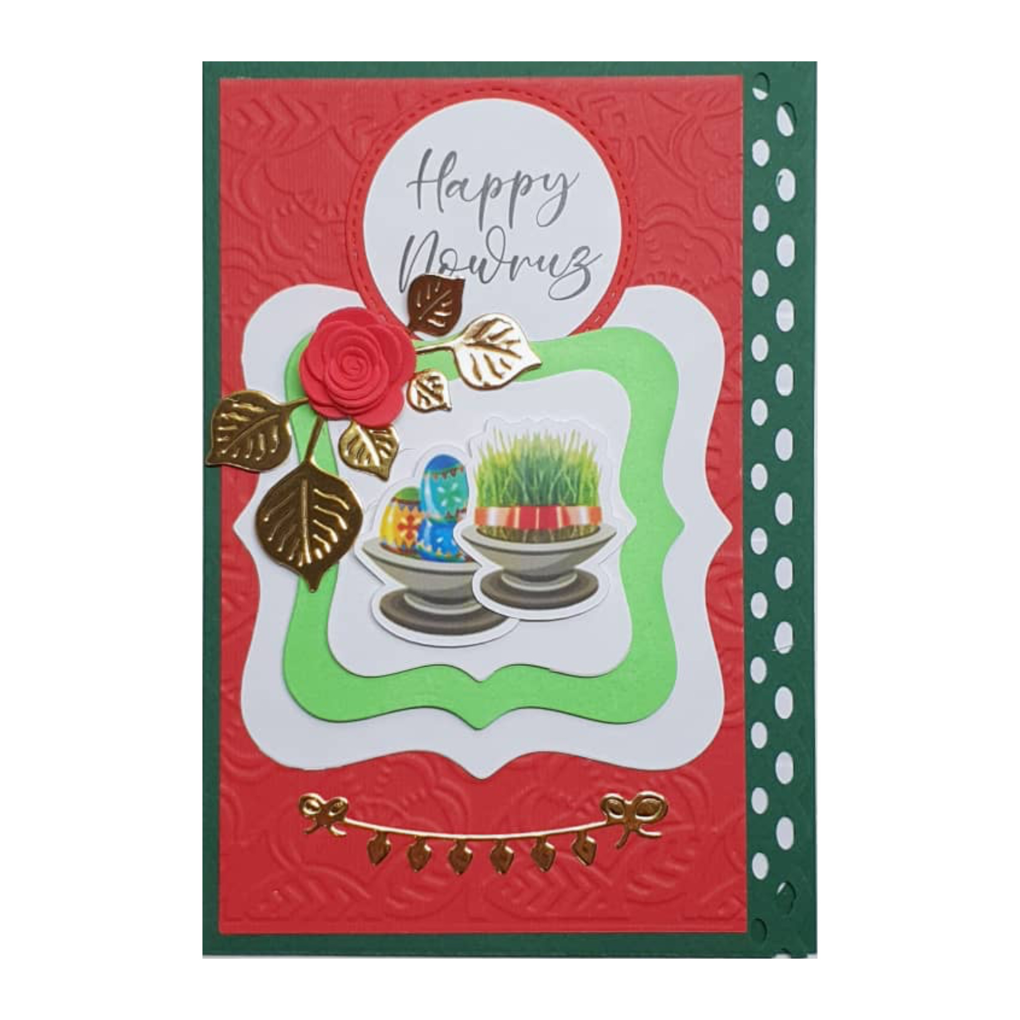 کارت پستال مدل سال نو ۱۴۰۰ طرح نوروز کد ۱