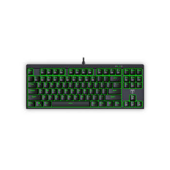 تصویر کیبورد گیمینگ با سیم تی دگر مدل کوروت T-TGK302-RD T-Dagger Corvette T-TGK302-RD Wired Gaming Keyboard