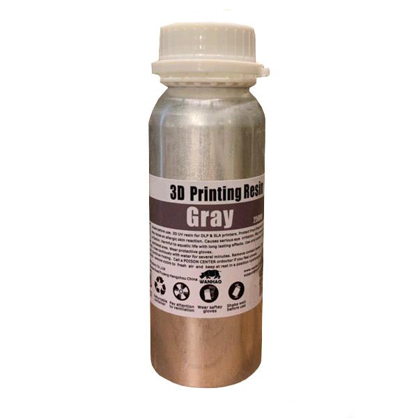 قیمت                      رزین پرینتر سه بعدی ونهاو مدل DLP/SLA  رنگ طوسی حجم 0.25 لیتر