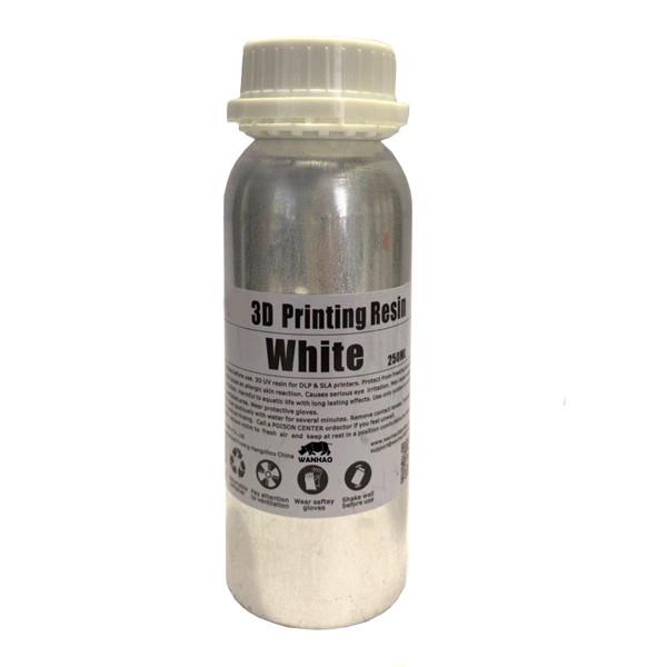 رزین پرینتر سه بعدی ونهاو مدل DLP/SLA  رنگ سفید حجم 0.25 لیتر