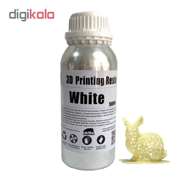 قیمت                      رزین پرینتر سه بعدی ونهاو مدل DLP/SLA  رنگ سفید حجم 0.5 لیتر