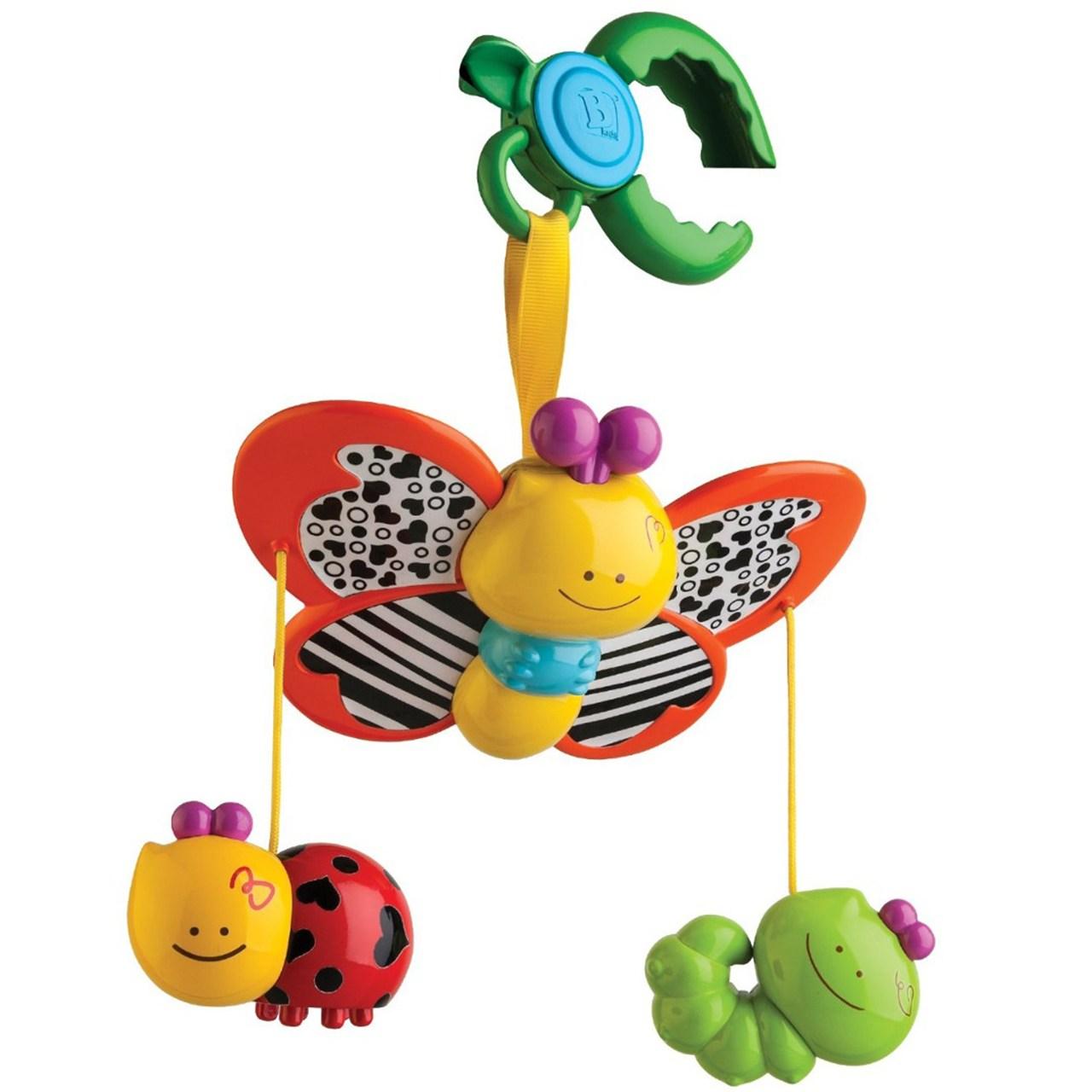 آویز بلو باکس مدل Dingling Bugs Stroller Clip