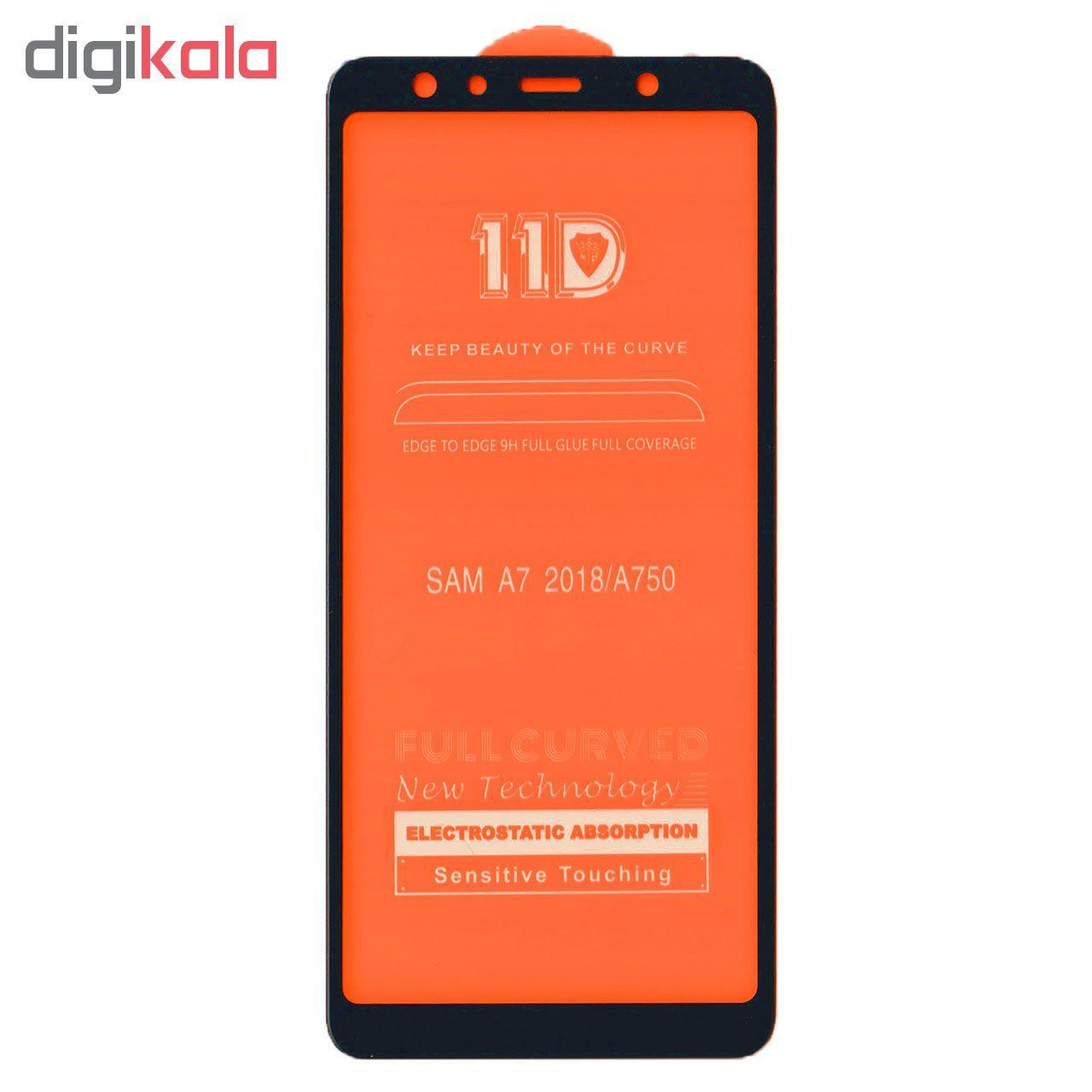 محافظ صفحه نمایش کوکو مدل 11D مناسب برای گوشی موبایل سامسونگ Samsung A7 2018 / A750 main 1 2
