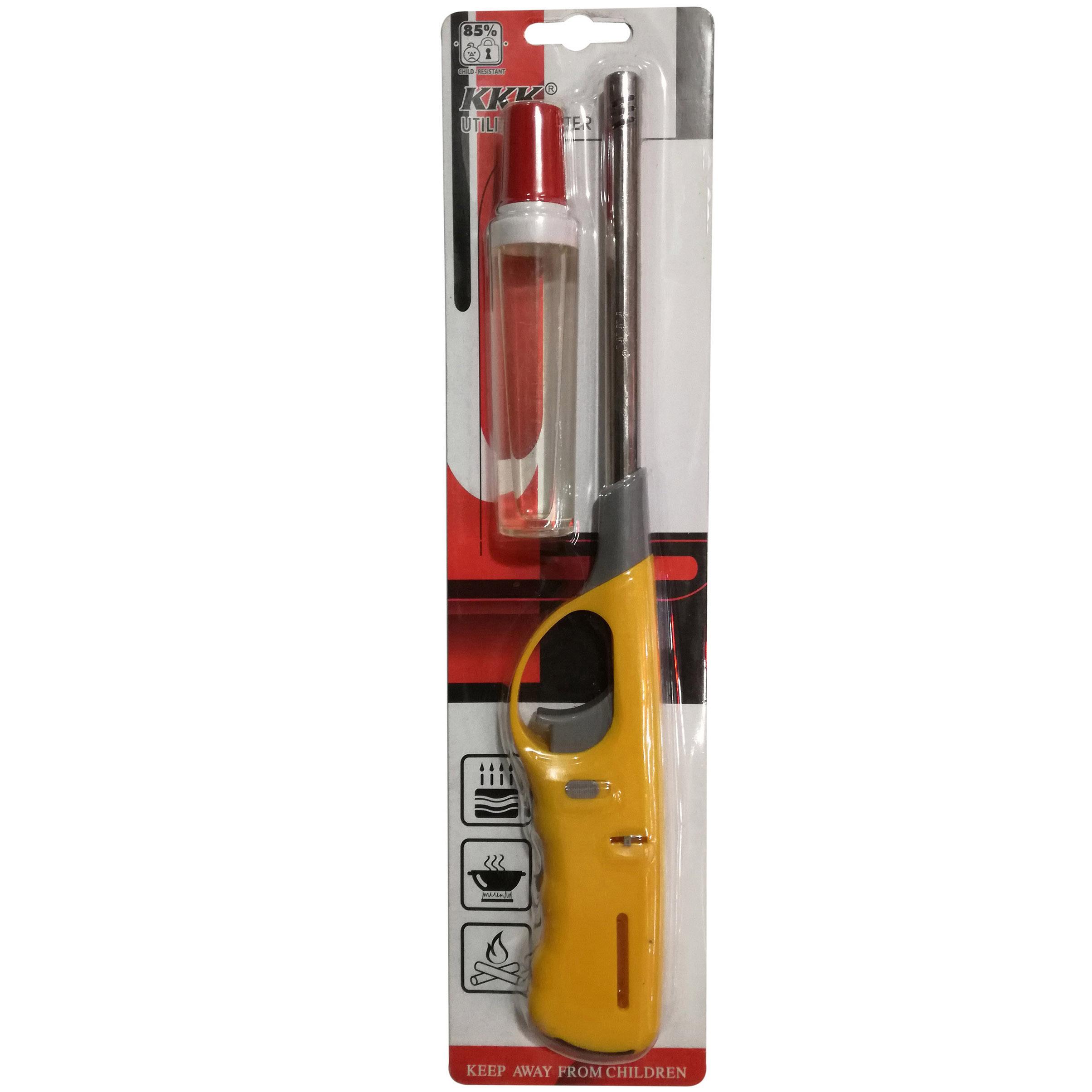 فندک آشپزخانه KKK همراه بایک فندک جیبی