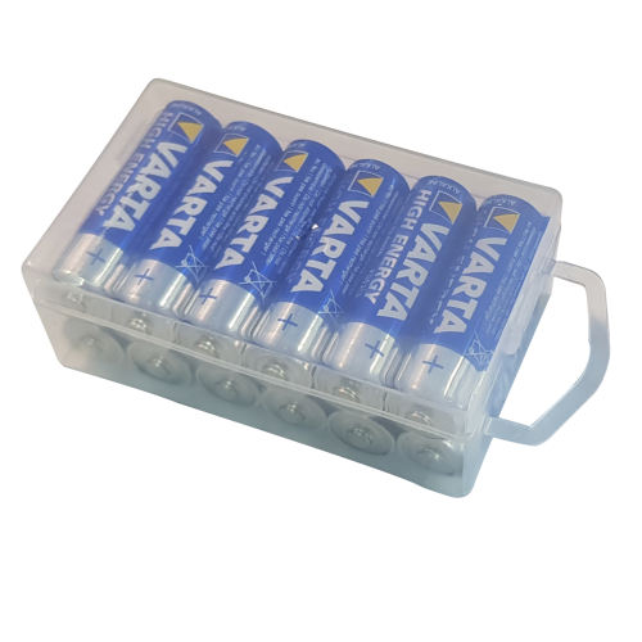 باتری قلمی وارتا مدل  High Energy Alkaline LR6AA بسته 12 عددی