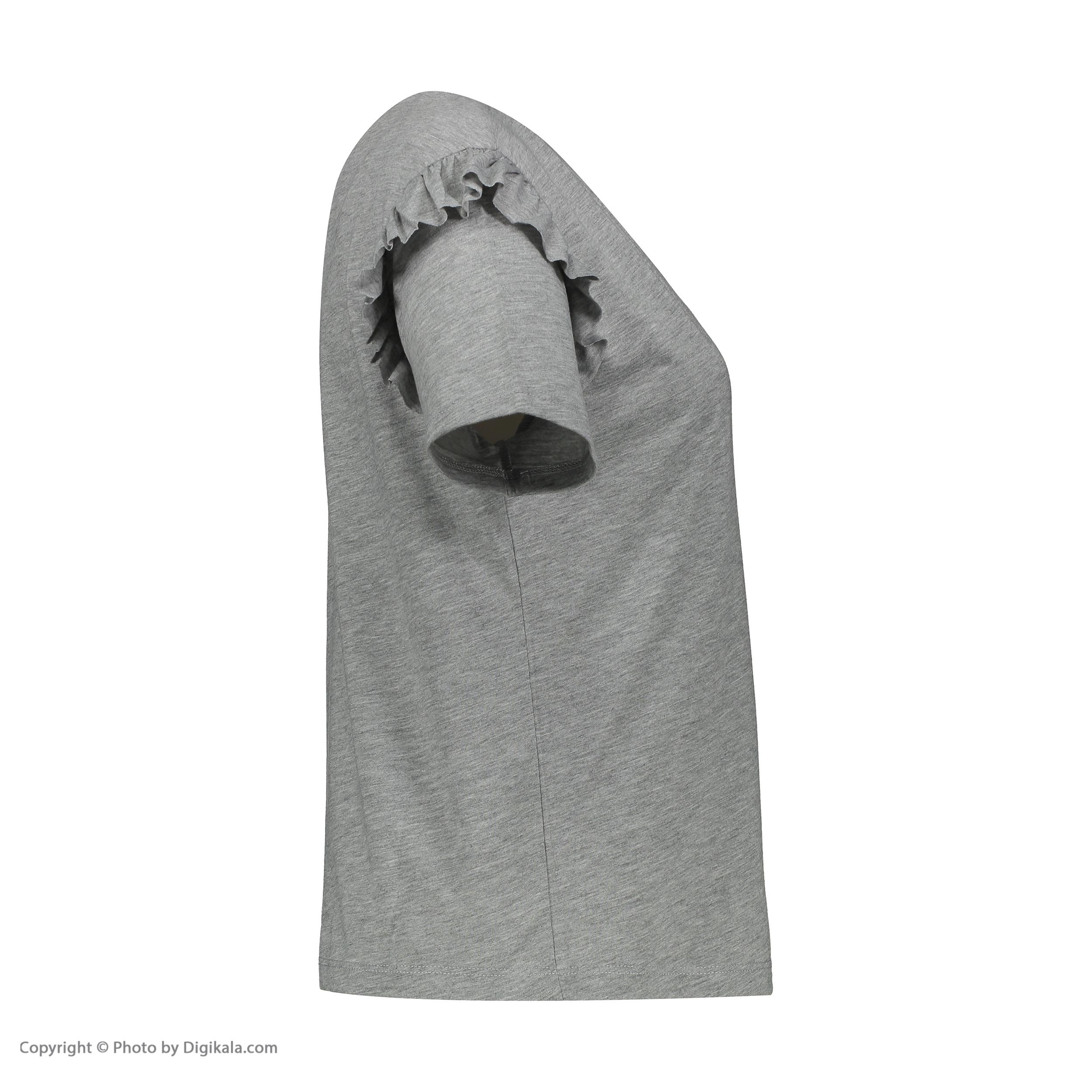 تی شرت زنانه کالینز مدل CL1031960-GREYMELANGE main 1 2
