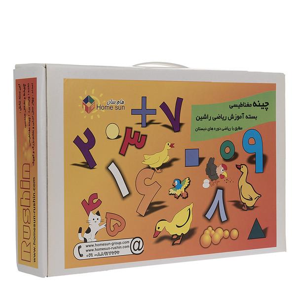 بازی آموزشی راشین الفبا مدل Magnetic Math