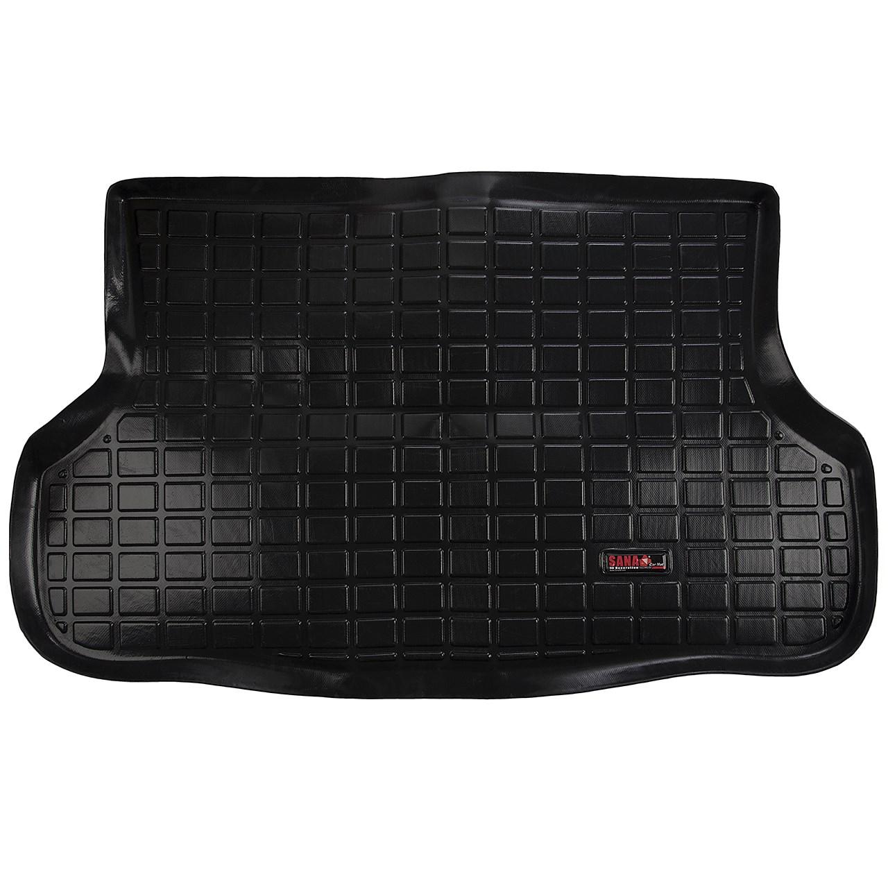 کفپوش سه بعدی صندوق خودرو سانا مناسب برای لیفان X60