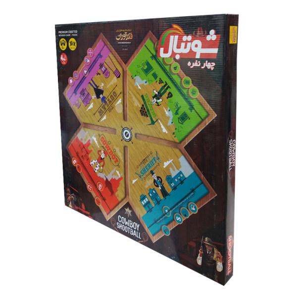 بازی فکری فکرآوران مدل شوتبال کد 44552