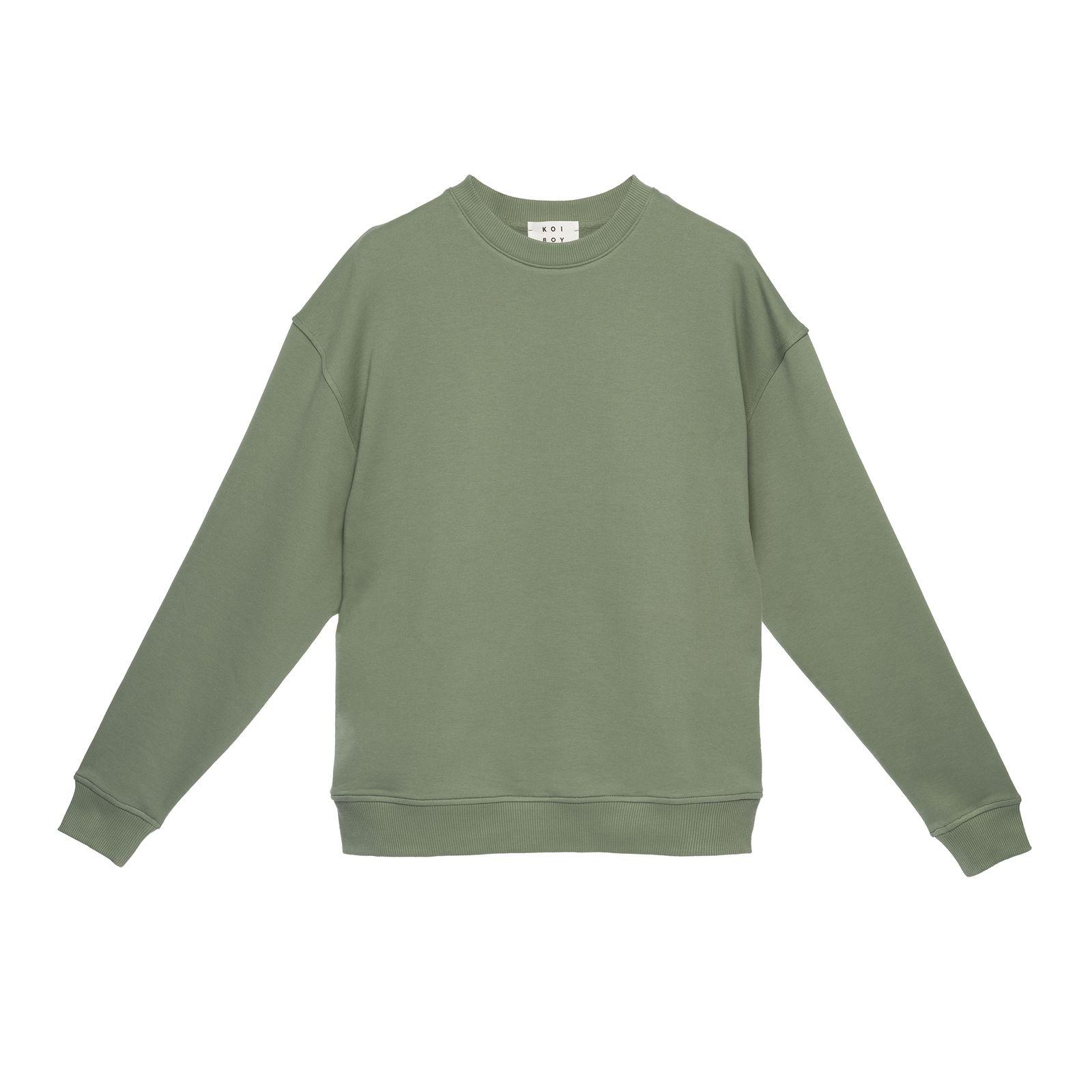 سویشرت مردانه کوی مدل 402 رنگ سبز -  - 1