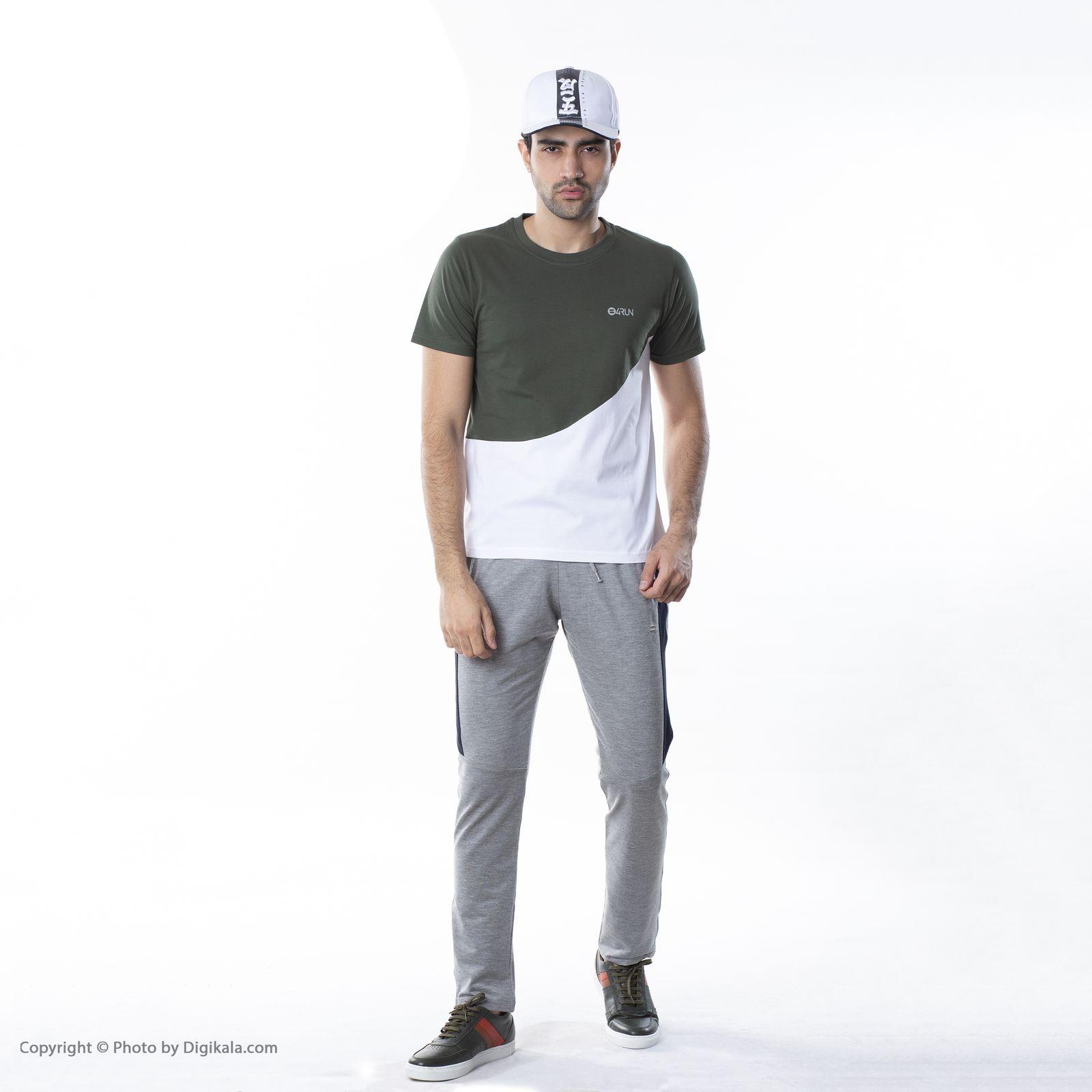 تی شرت ورزشی مردانه بی فور ران مدل 210314-4301 -  - 3