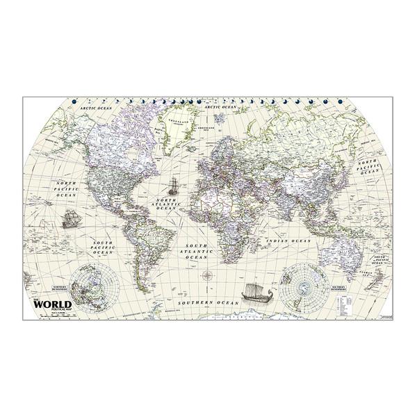 نقشه جهان و جمعیت شهر ها گیتاشناسی نوین کد ۱۰۰۲