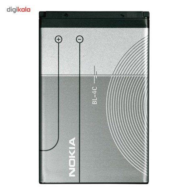 باتری موبایل مناسب برای  نوکیا BL-4C با ظرفیت 890 میلی آمپر ساعت main 1 1