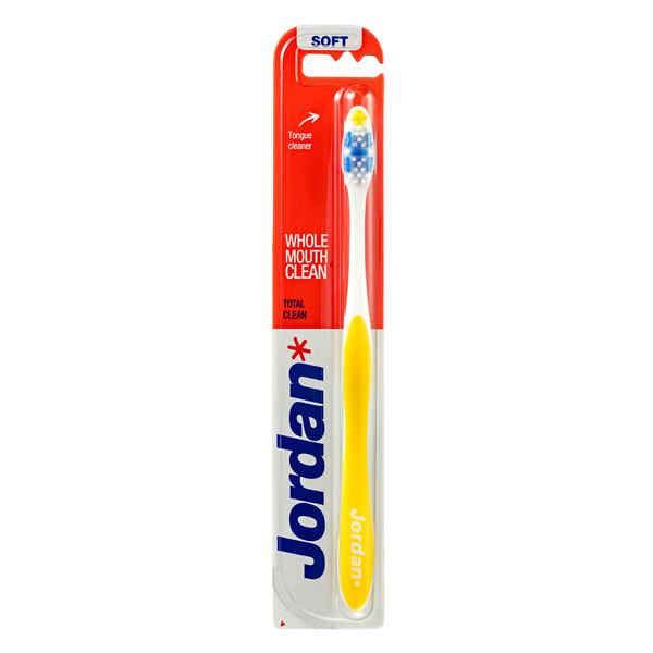 مسواک جردن مدل Total Clean با برس نرم