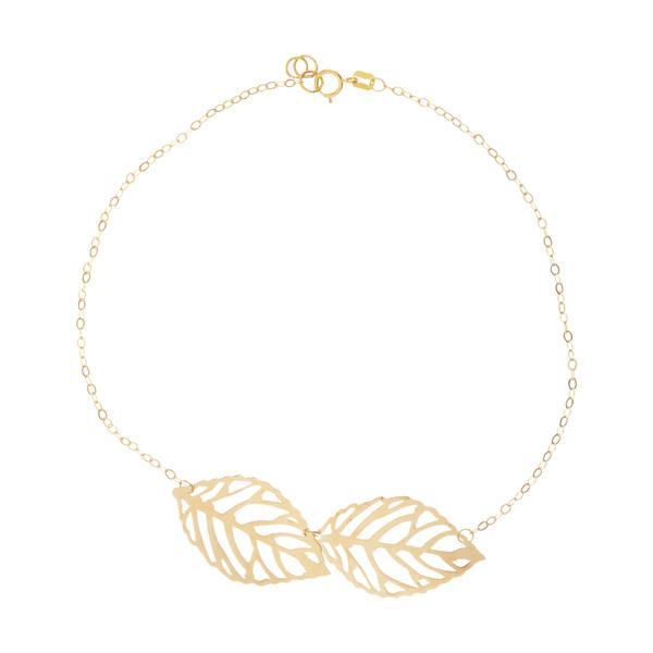 پابند طلا زنانه مایا ماهک مدل MA0142