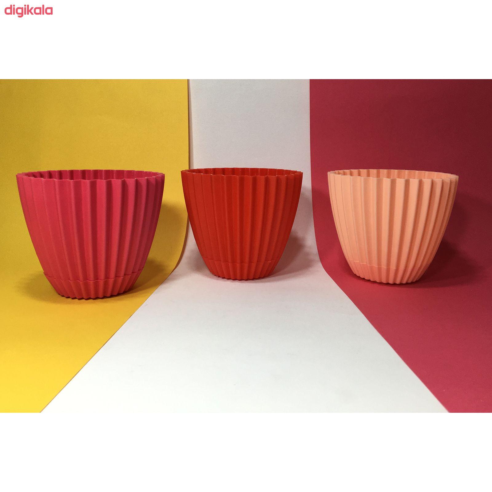 گلدان دانیال پلاستیک کد 210 main 1 2