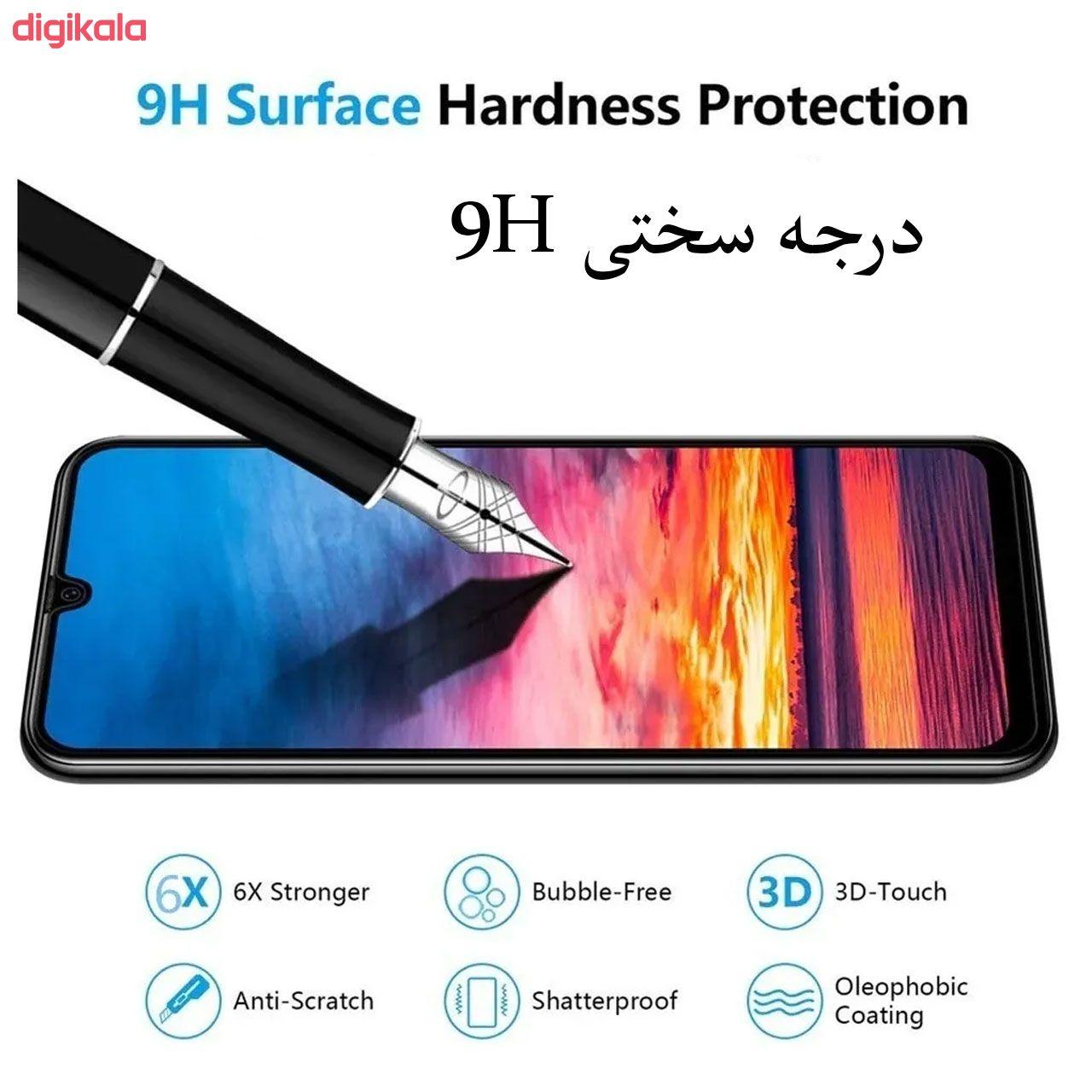 محافظ صفحه نمایش مدل FCG مناسب برای گوشی موبایل سامسونگ Galaxy M20 بسته سه عددی main 1 4