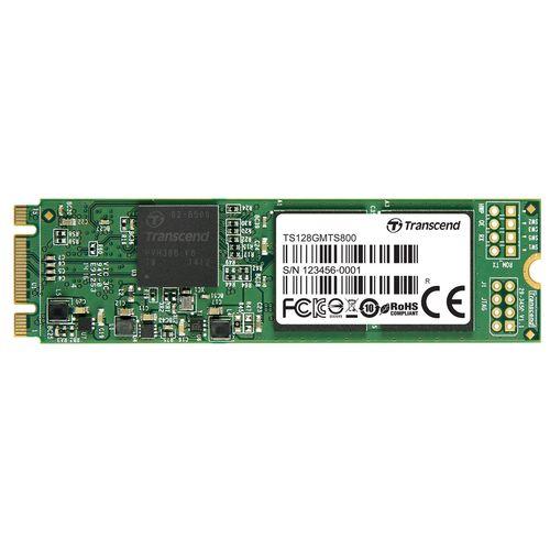 حافظه SSD سایز M.2 2280 ترنسند مدل MTS800 ظرفیت 128 گیگابایت