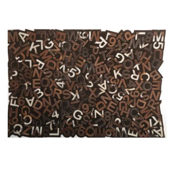 کلاژ فرش چرم و پوست کد S-002