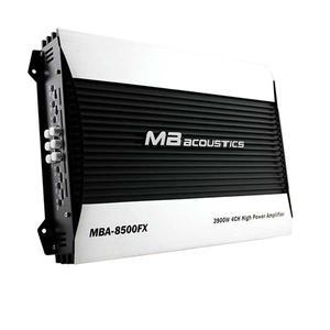 آمپلی فایر خودرو ام بی آکوستیک مدل MBA-8500FX