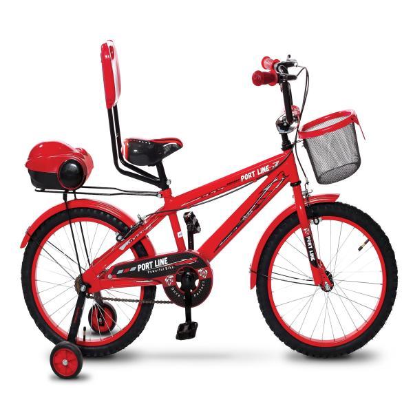 دوچرخه شهری پورت لاین مدل چیچک سایز 20 قرمز