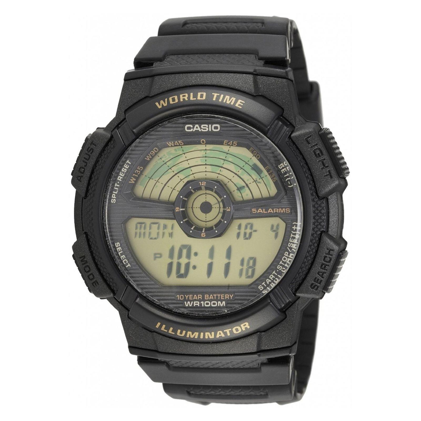 ساعت مچی دیجیتال مردانه کاسیو مدل AE-1100W-1B -  - 1