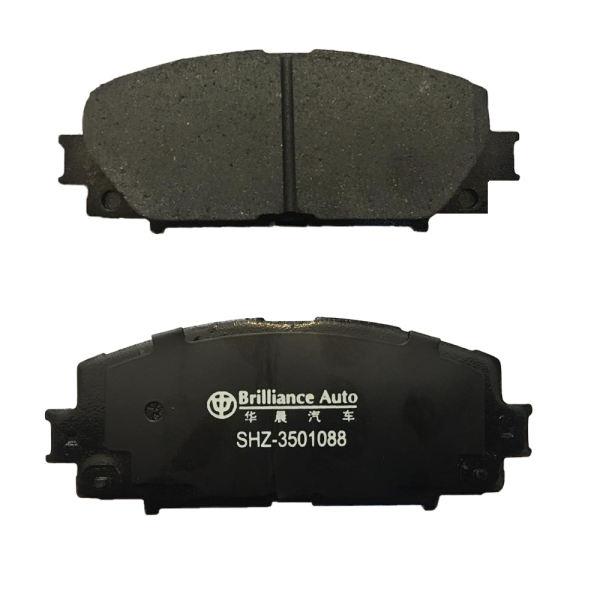 لنت ترمز جلو برلیان کد SHZ-3501088 مناسب برای برلیانس سری 200