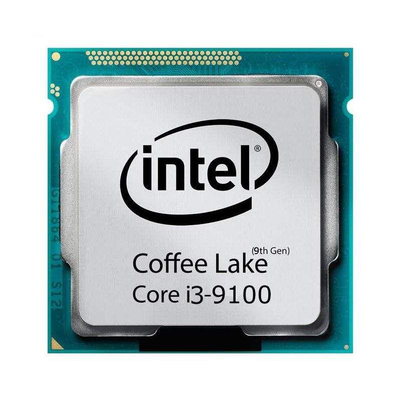 پردازنده اینتل سری Coffee Lake مدل Core i3-9100 tray
