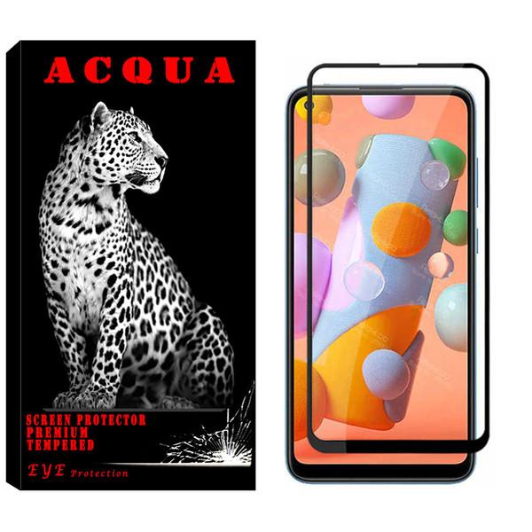 محافظ صفحه نمایش آکوا مدل SA مناسب برای گوشی موبایل سامسونگ Galaxy A11