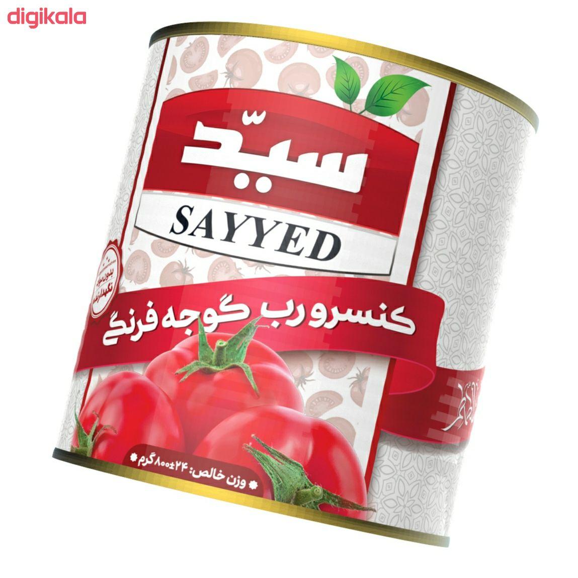 رب گوجه فرنگی سید  - 800 گرم main 1 2