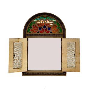 آینه چوبی مدل درب دار کد 0002