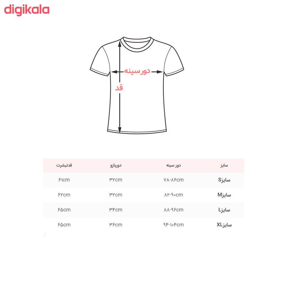 تی شرت زنانه کد Tsh6B main 1 1