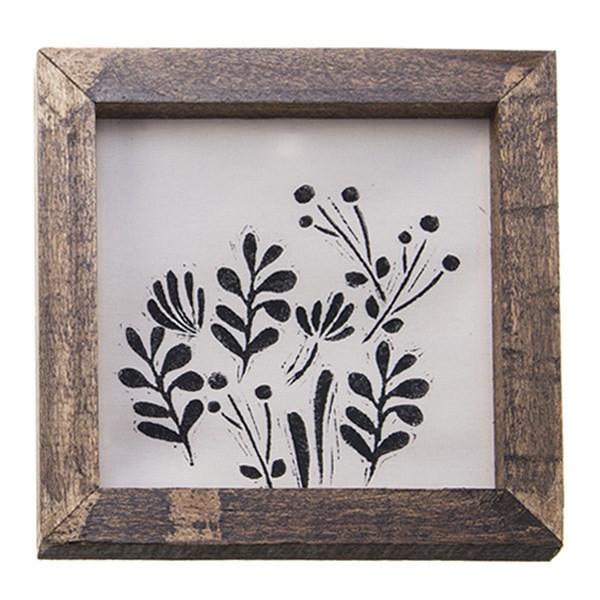 تابلو چوبی چاپ دستی روی پارچه گالری هور نقش 12