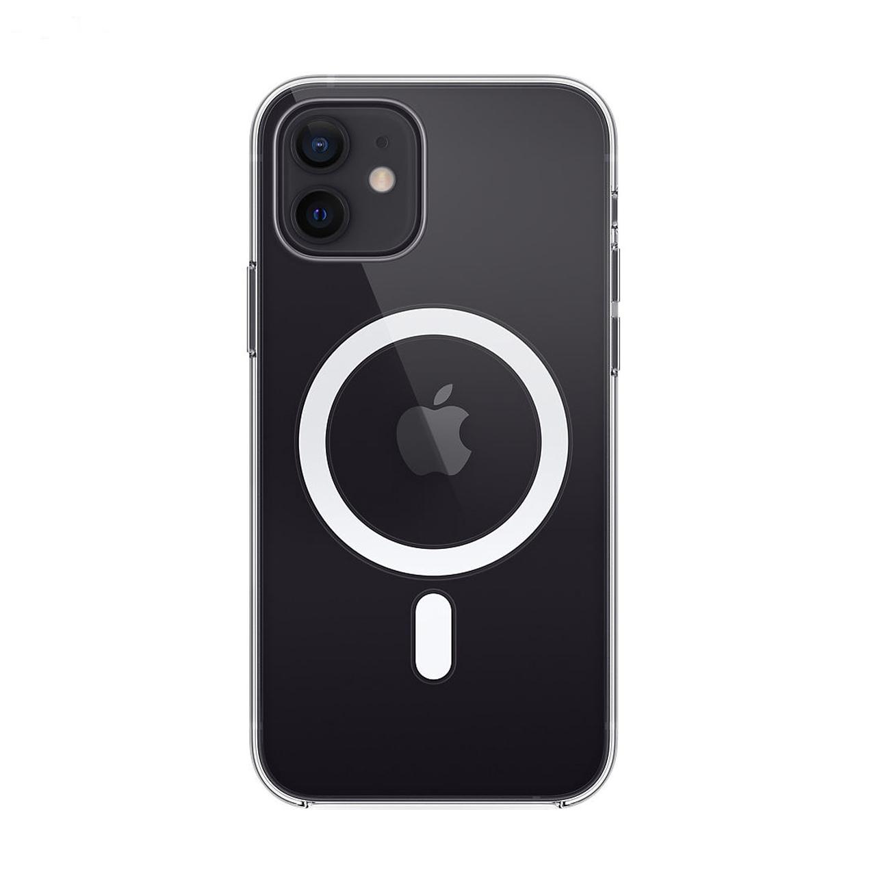 بررسی و {خرید با تخفیف} کاور کلیر کیس مدل MGSF مناسب برای گوشی موبایل اپل iphone 12 Pro اصل