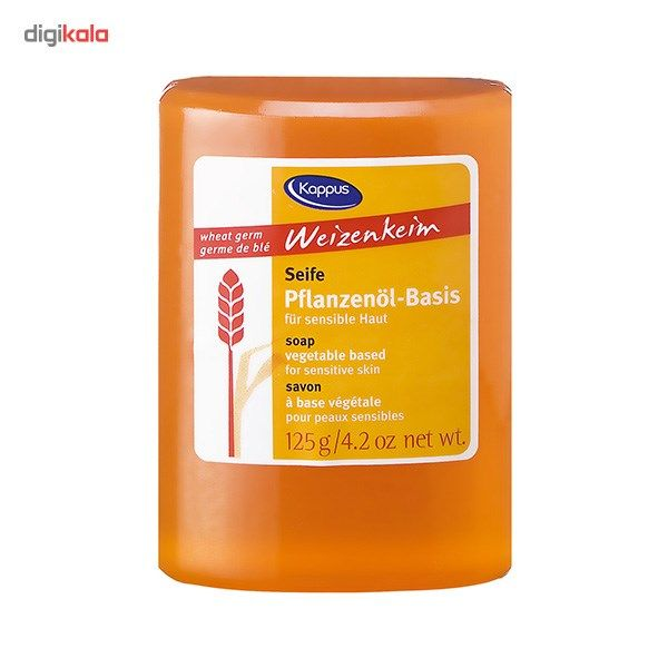 صابون کاپوس مدل Wheat Germ مقدار 125 گرم