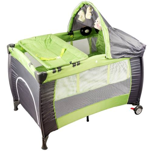 تخت و پارک بازی مک بیبی مدل B103W