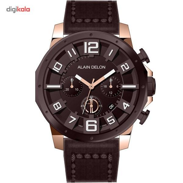 خرید ساعت مچی عقربه ای مردانه آلن دلون مدل AD382-1549C