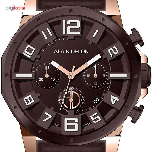 ساعت مچی عقربه ای مردانه آلن دلون مدل AD382-1549C