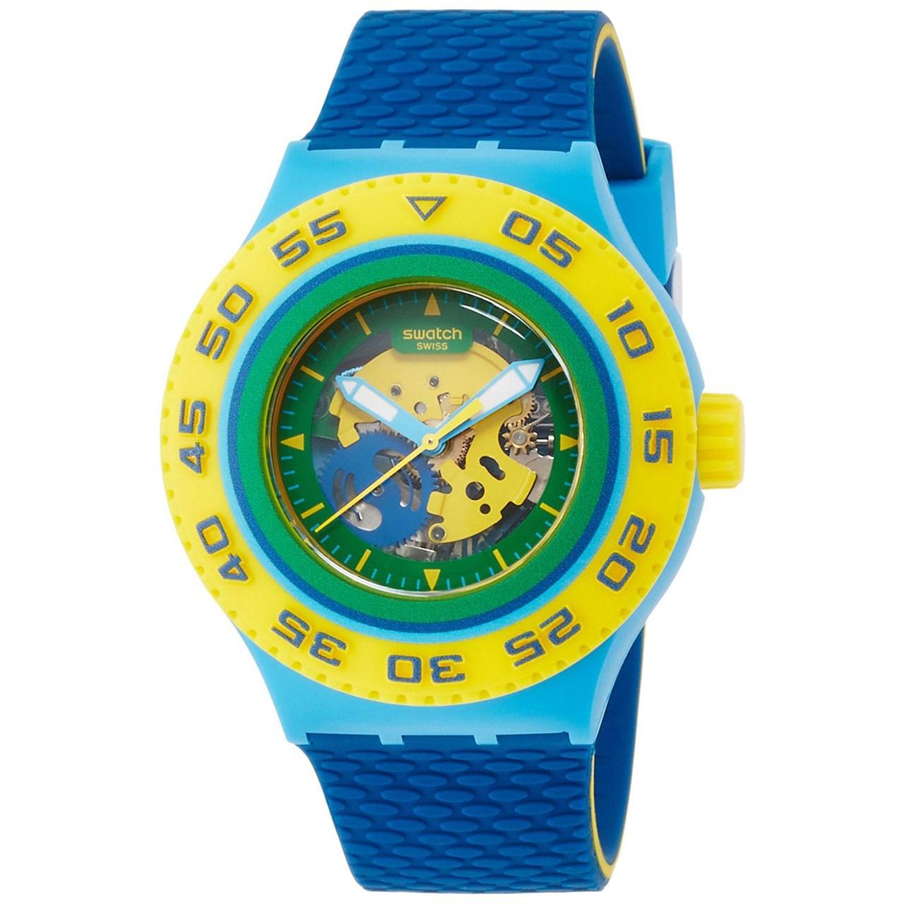 ساعت مچی عقربه ای سواچ مدل SUUS102