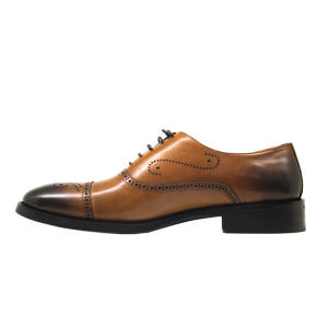 کفش مردانه چرم آرا مدل sh024 کد a