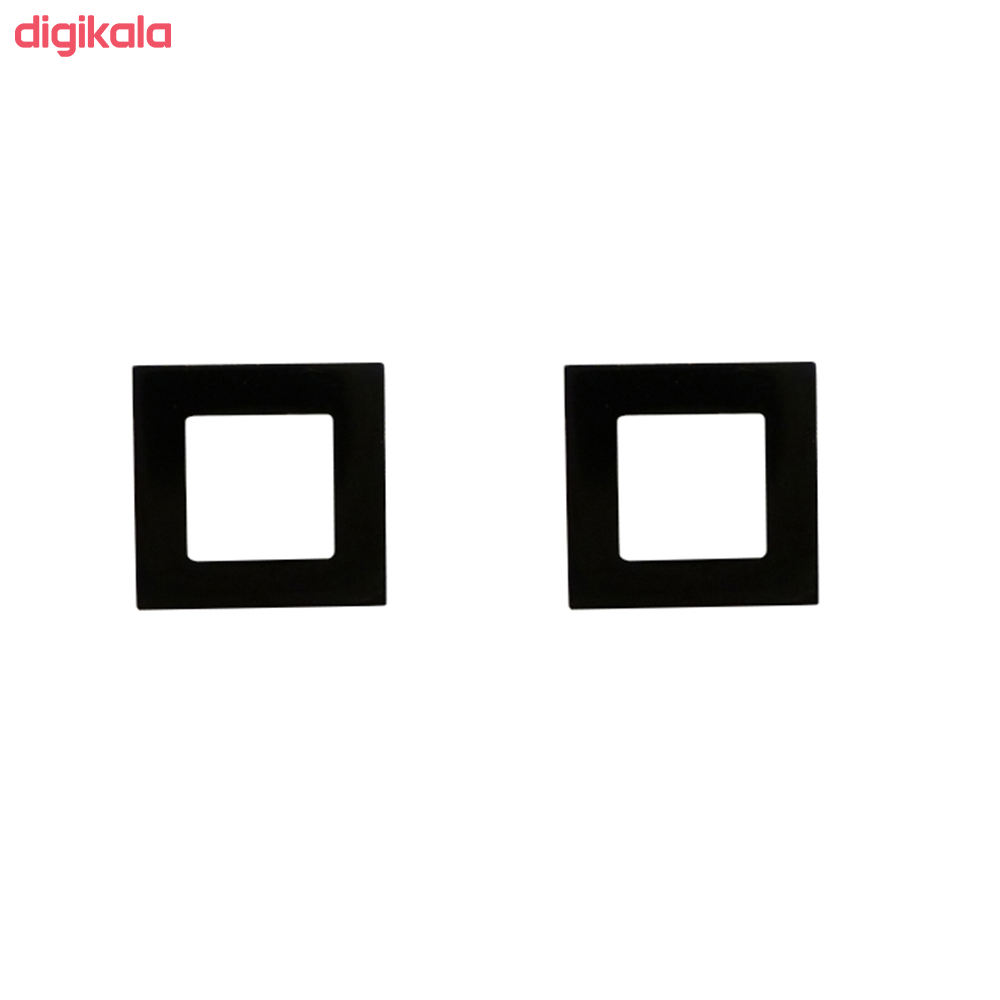 گوشواره زنانه مدل مربع کد017 main 1 3