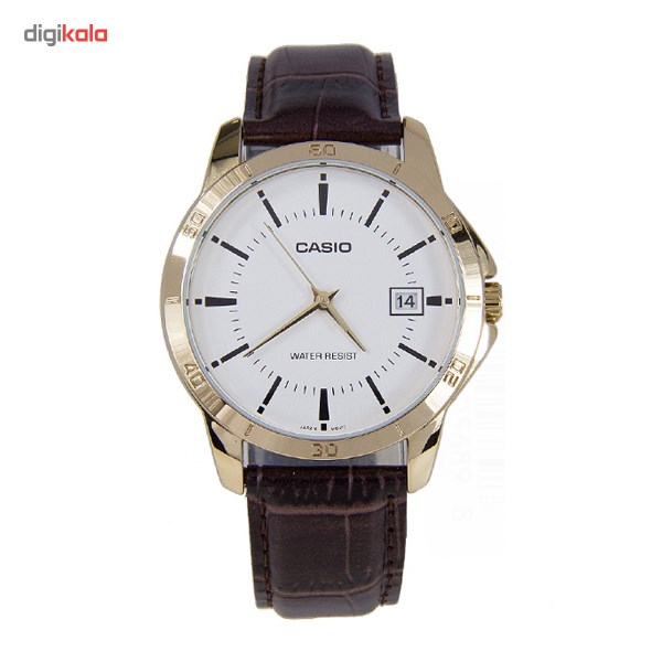 ساعت مچی عقربه ای کاسیو مدل MTP-V004GL-7AUDF مناسب برای آقایان 25