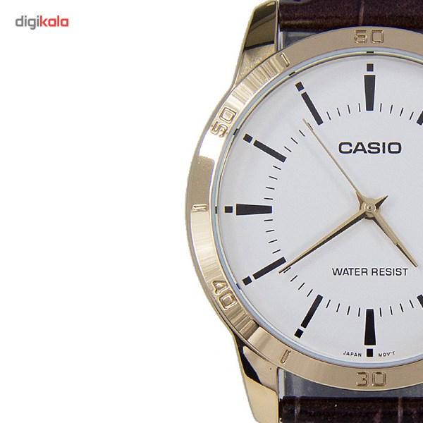 خرید ساعت مچی عقربه ای کاسیو مدل MTP-V004GL-7AUDF مناسب برای آقایان | ساعت مچی