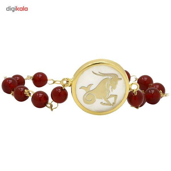 دستبند طلا 18 عیار ماهک مدل MB0128 - مایا ماهک -  - 3