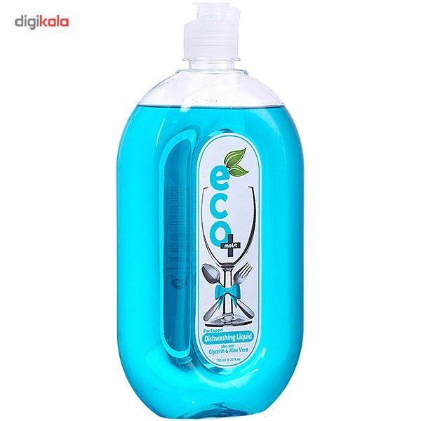مایع ظرفشویی ایکو مویست مدل Blue حجم 750 میلی لیتر main 1 1