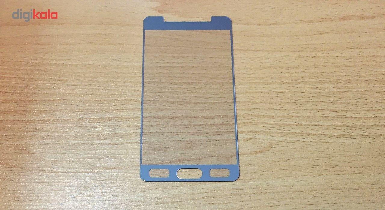 محافظ صفحه نمایش شیشه ای تمپرد مدل Full Cover مناسب برای گوشی موبایل سامسونگ Galaxy A5 2016 main 1 5