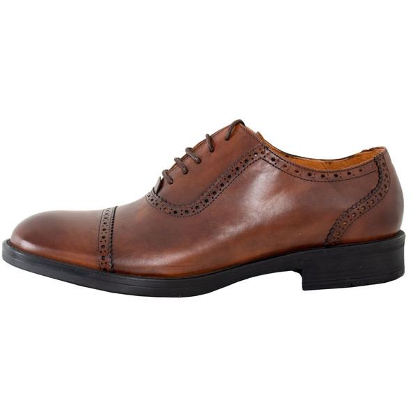 کفش مردانه پارینه چرم مدل sho182-7