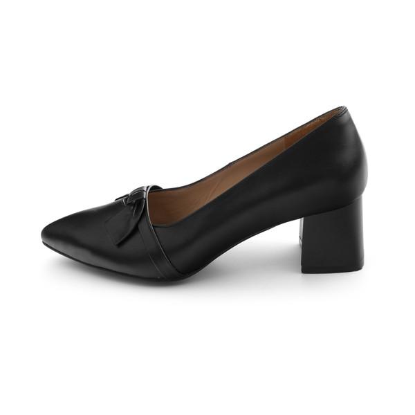 کفش زنانه مارال چرم مدل آلیسون 348-Black