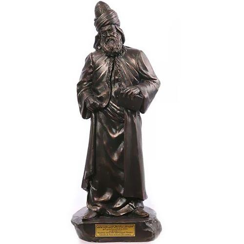 مجسمه مولانا کارگاه تندیس و پیکره شهریار کد M110